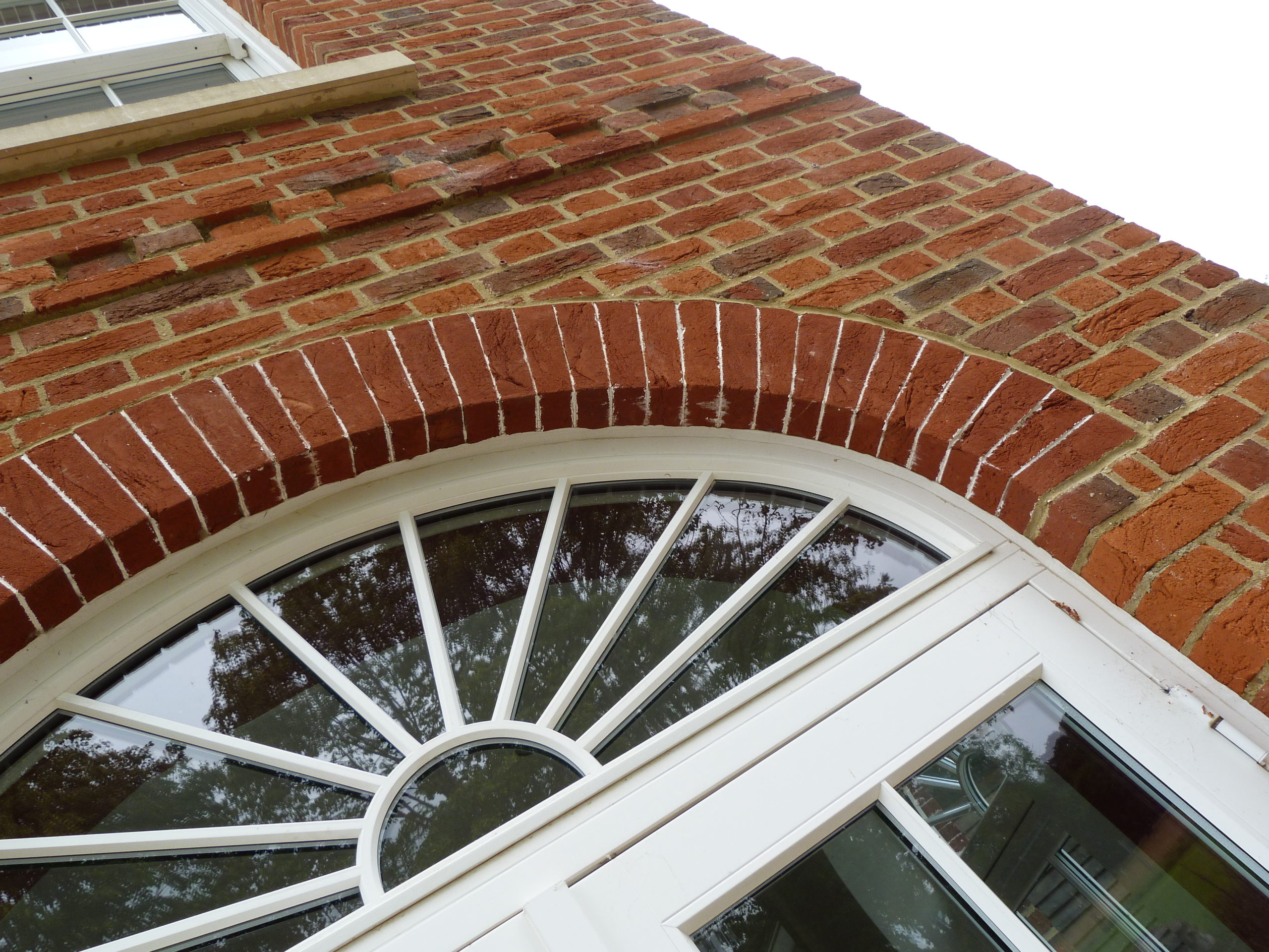 Curved Brick Arch