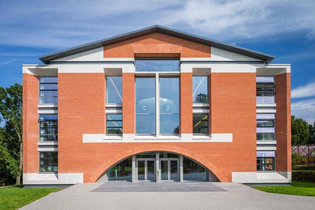 Hodgson Hall - Front Elevation