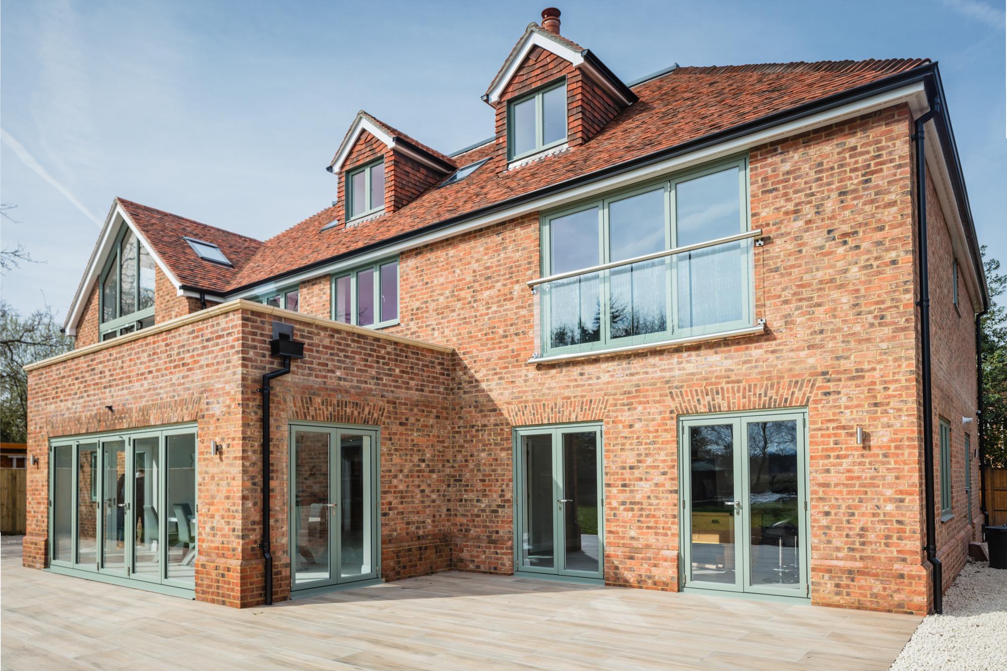 Bespoke home bricks, brick arches