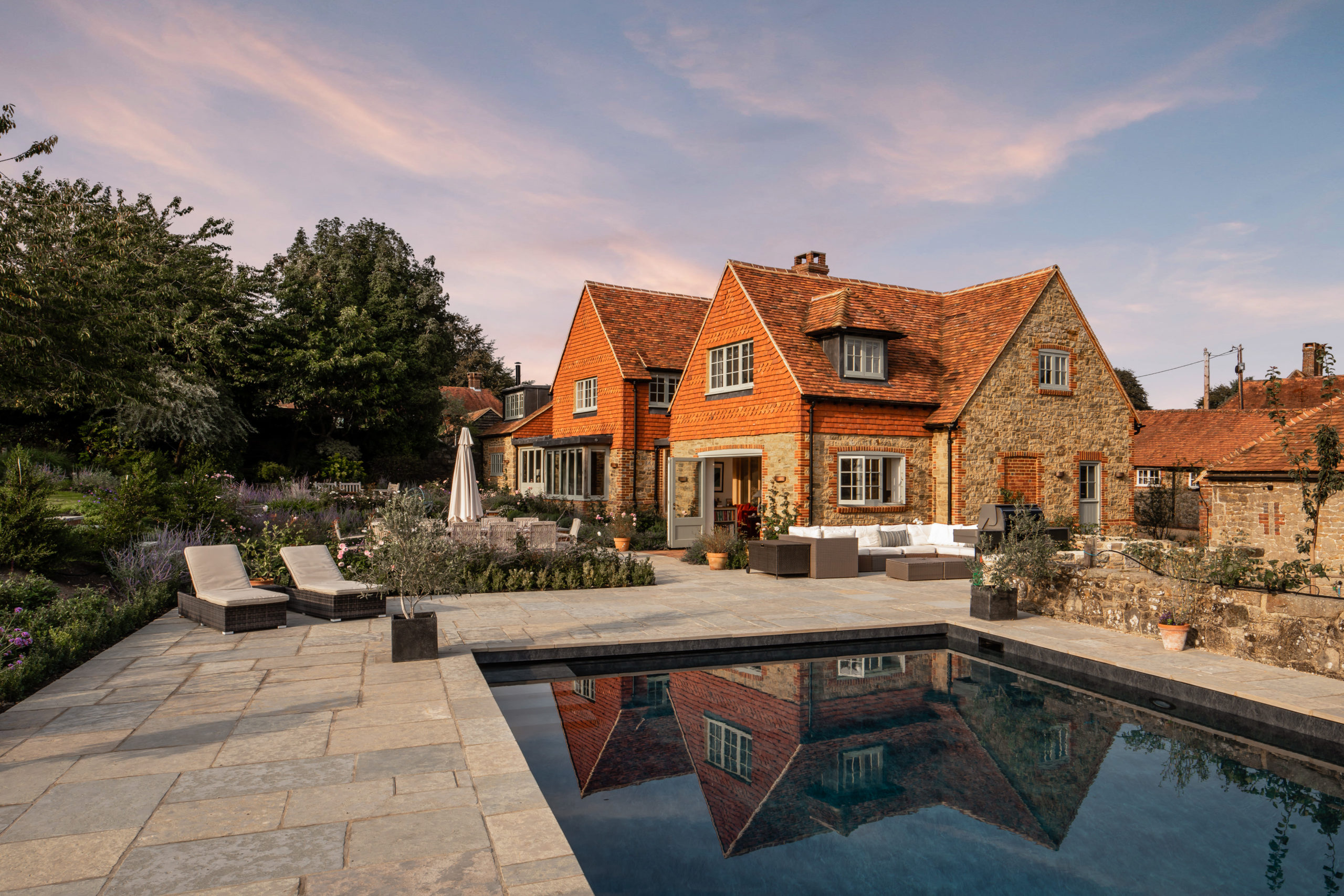 Bespoke country home brickmatch