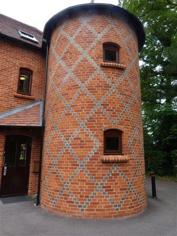 Decorative brick headers