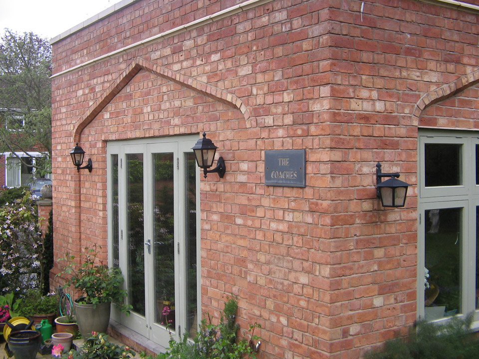 Country blend bricks and arches