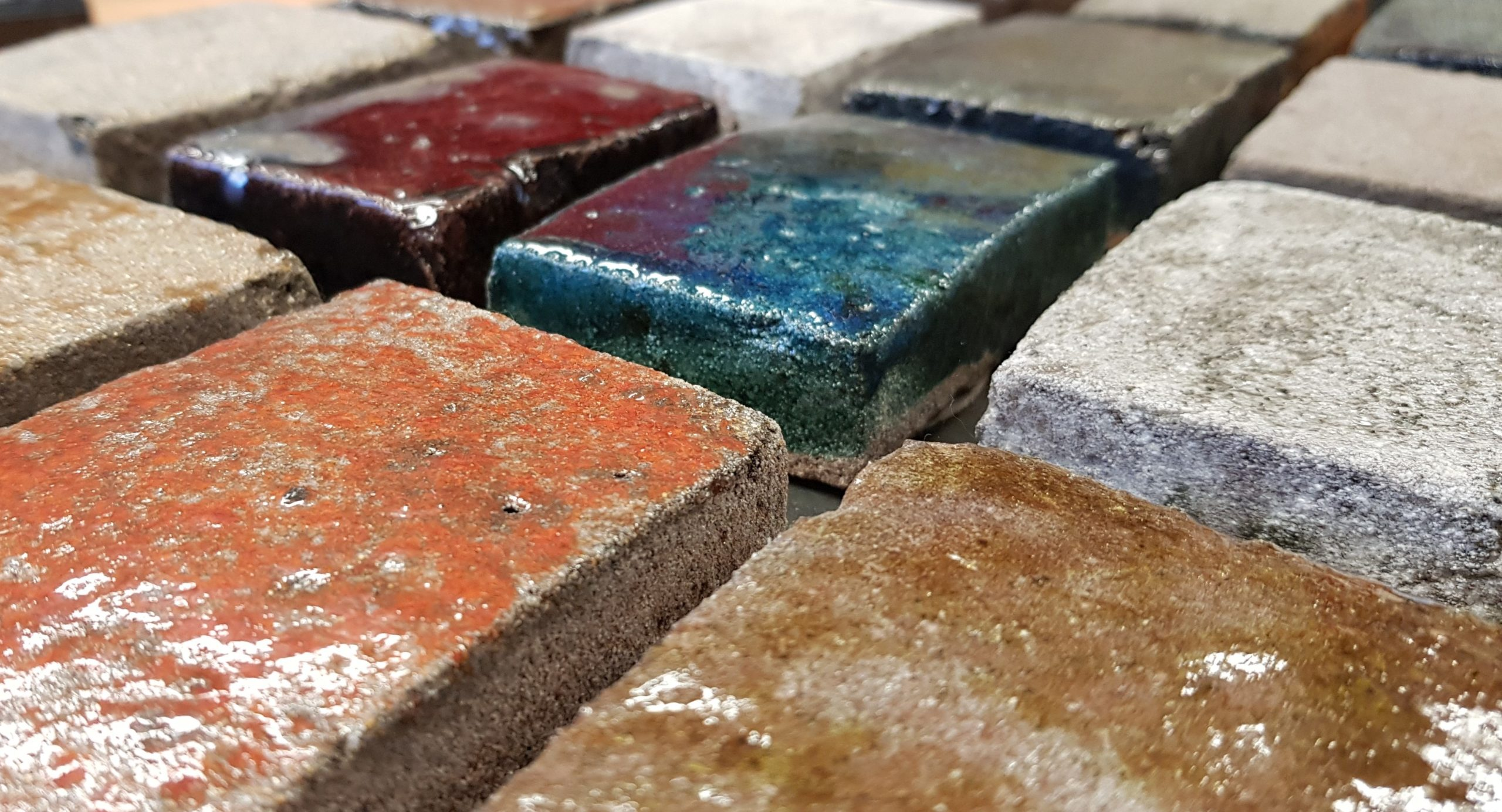 Glazed bricks contemporary