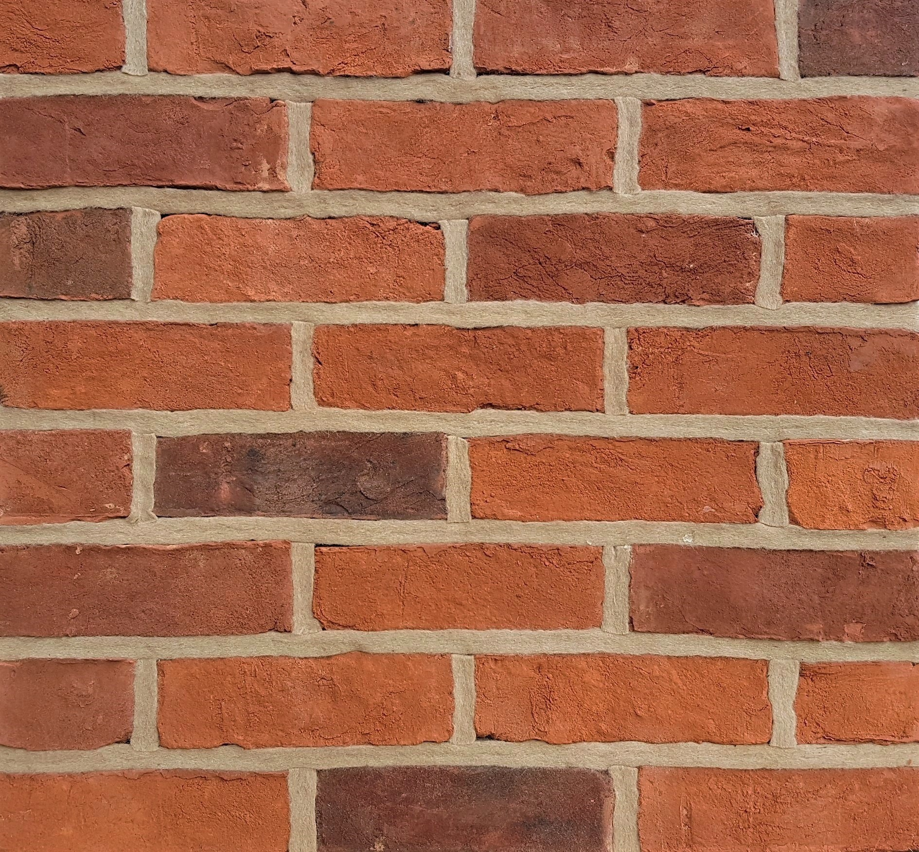 Handmade clay facing bricks