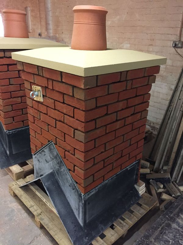 Mid Ridge Cap Prefabricated Chimney