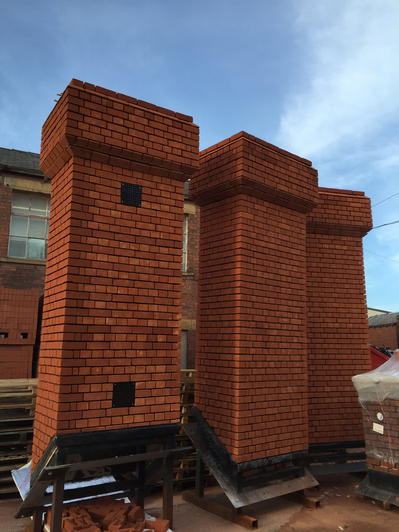 Prefabricated chimney