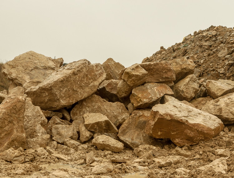 Raw natural stone