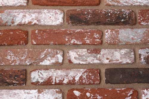 Reclaimed bricks red