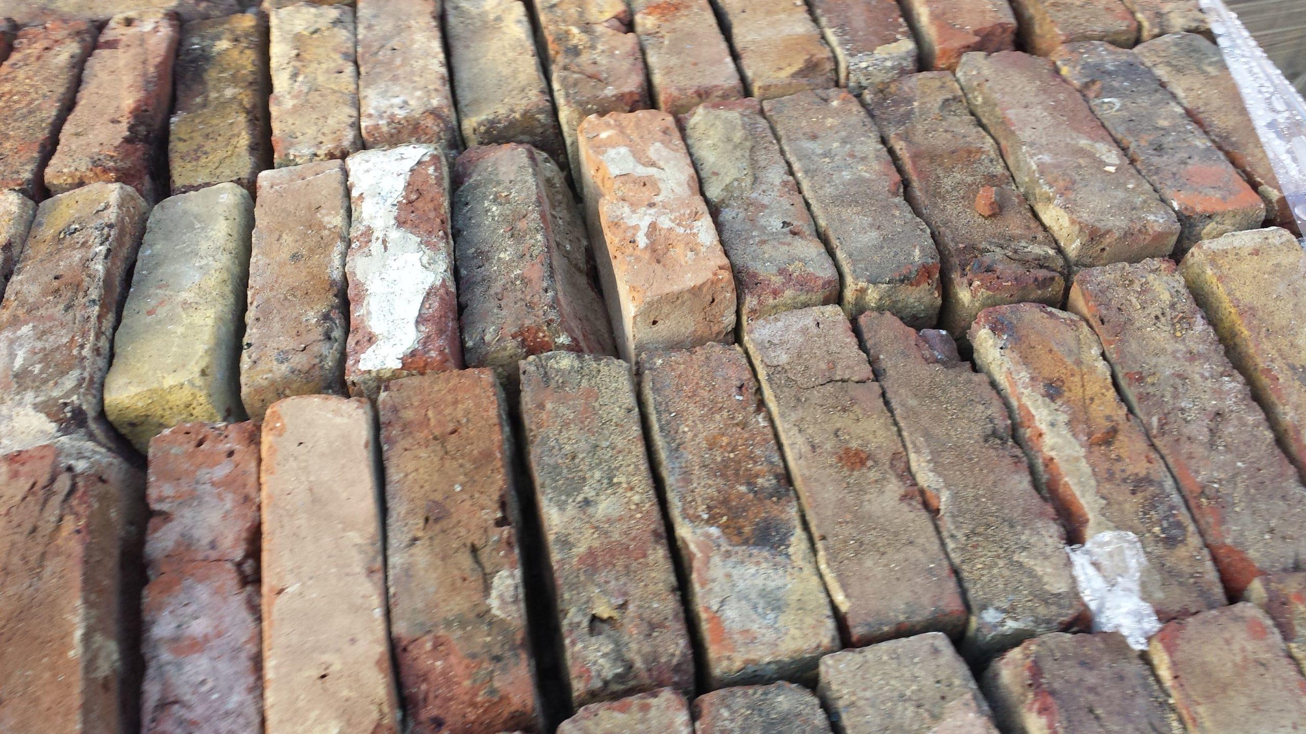 Reclaimed Bricks Mixed