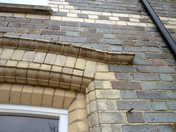 Brick specials window arch
