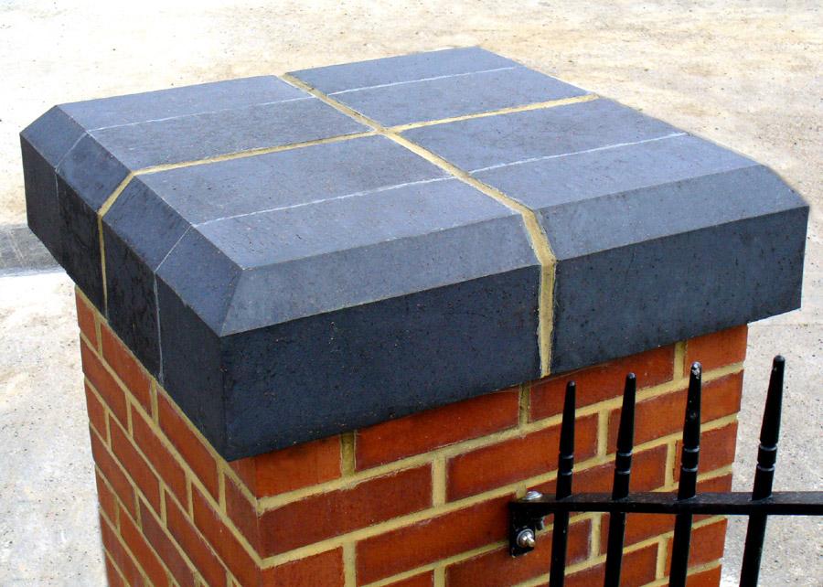 Brick specials pier cap