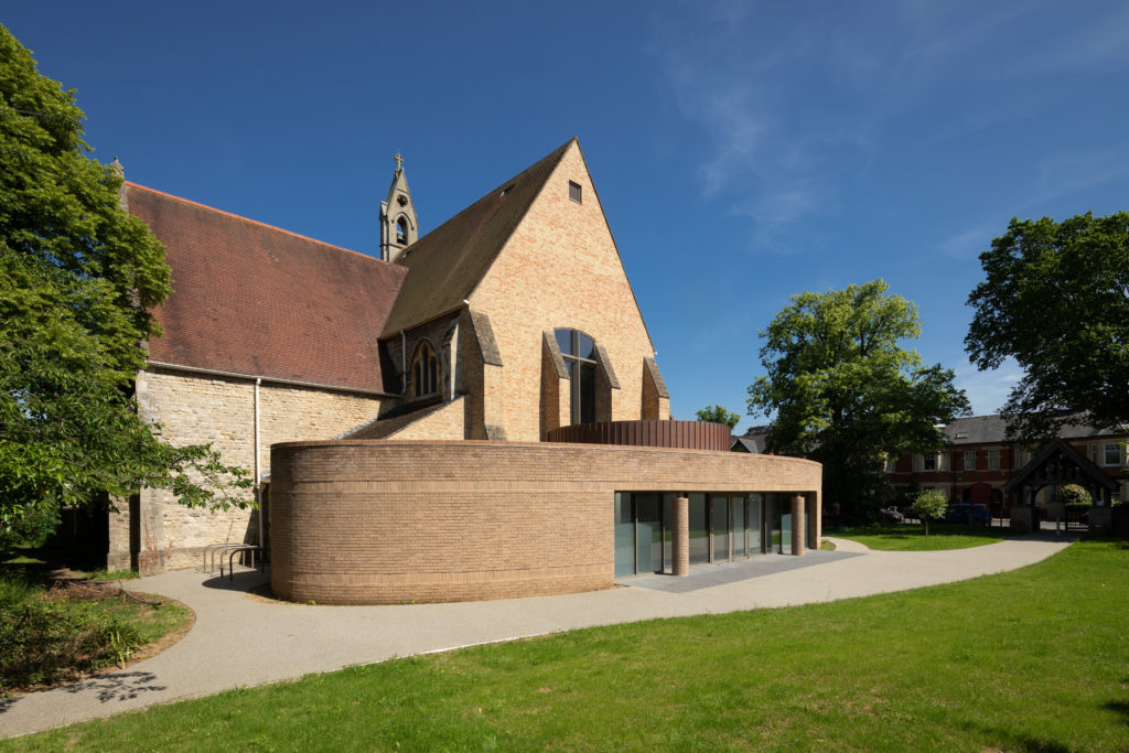 Extension to gothic Victorian church