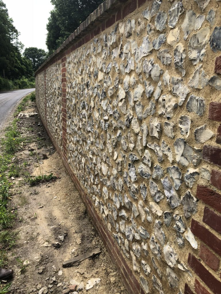 National Trust Basildon Wall Flint