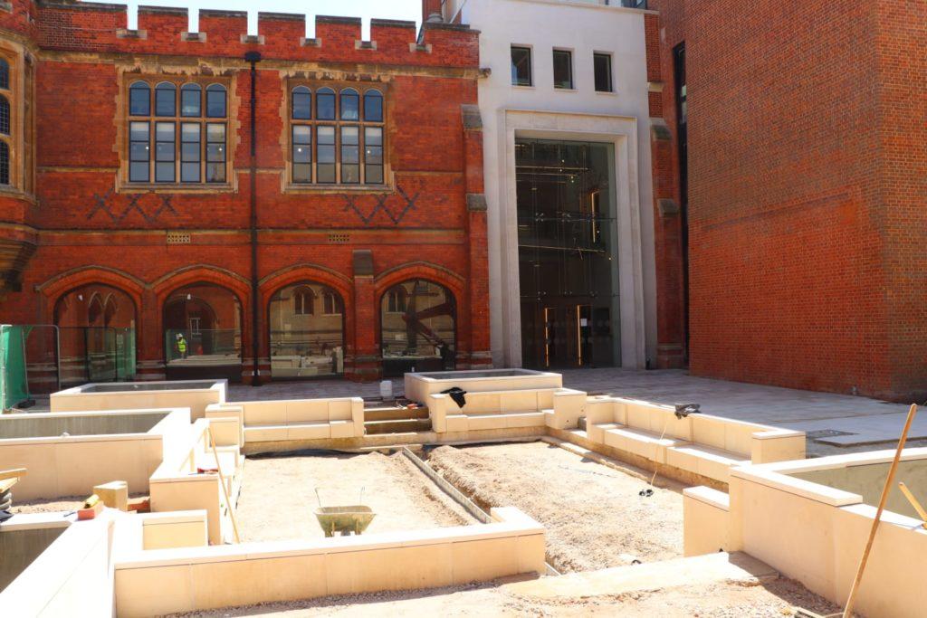 Eton College Courtyard Natural Stone