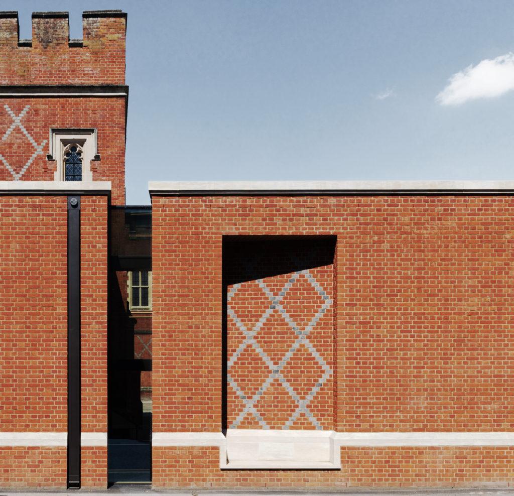 Eton College Bricks and Headers