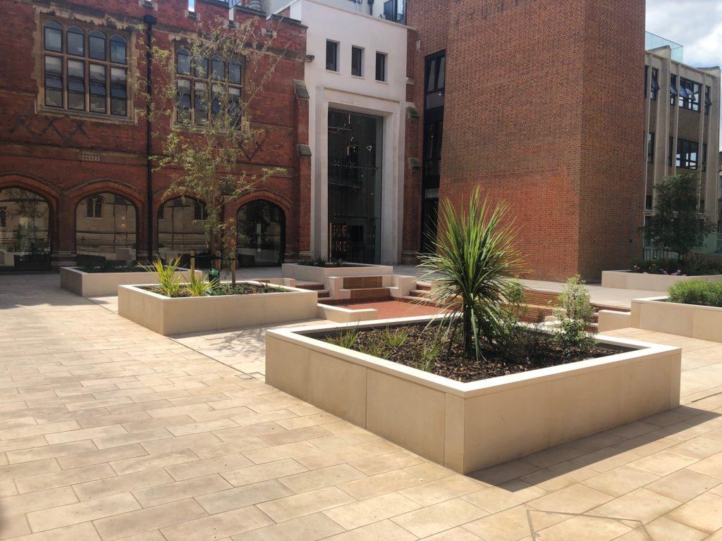 Eton College Courtyard