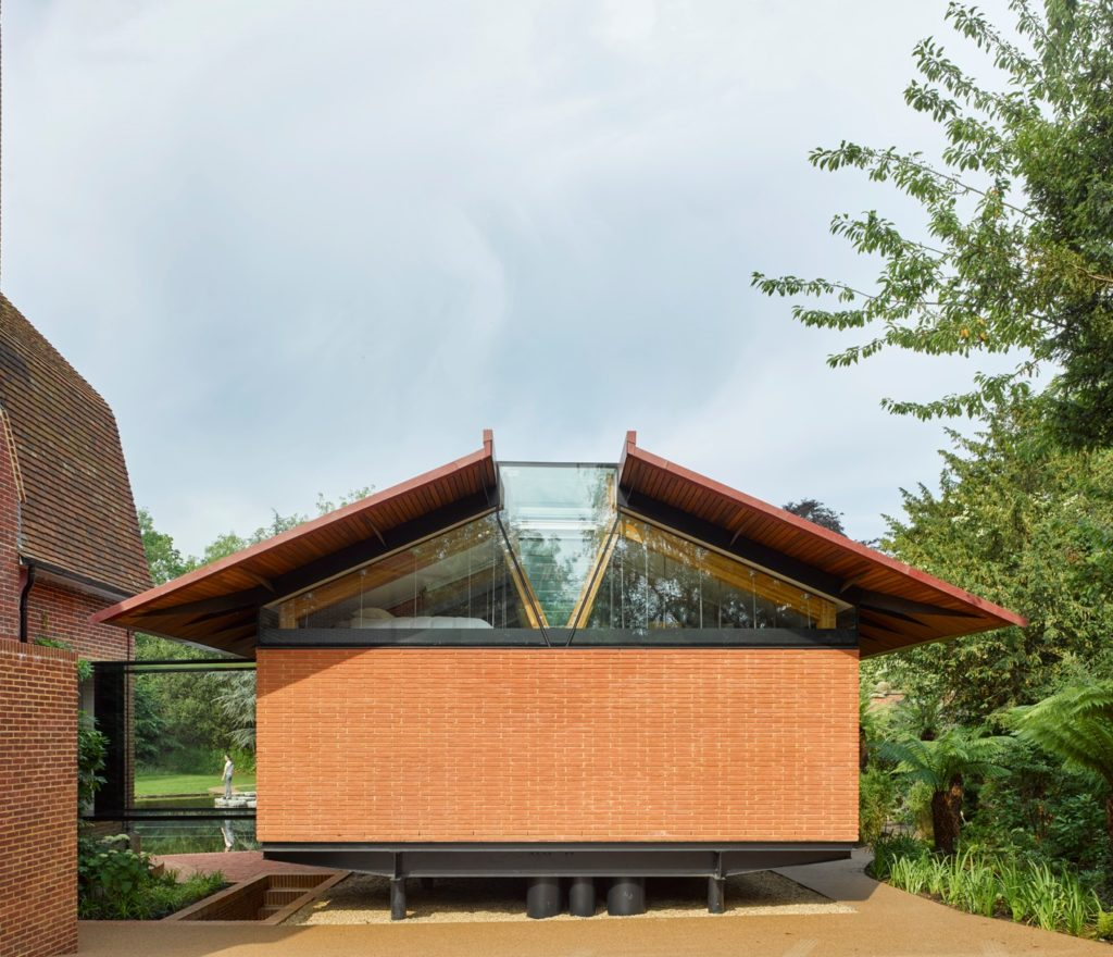Stepping Stones Pool House Linear Format Brick