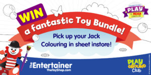 win a fantastic toy bundle at The Entertainer