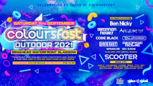 Colourfest Outdoor 2021 promotional poster