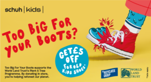 Schuh Kids. Too big for your boots? £5 discount off for old kids shoes