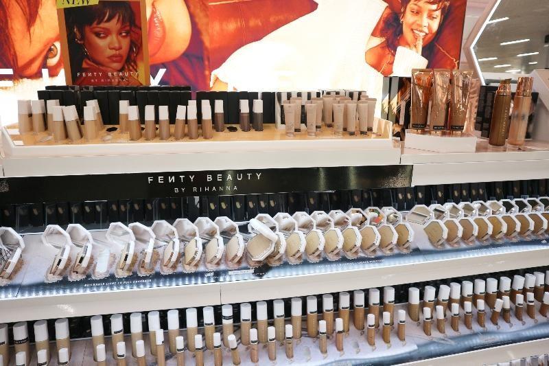 Fenty Beauty makeup in Braehaed