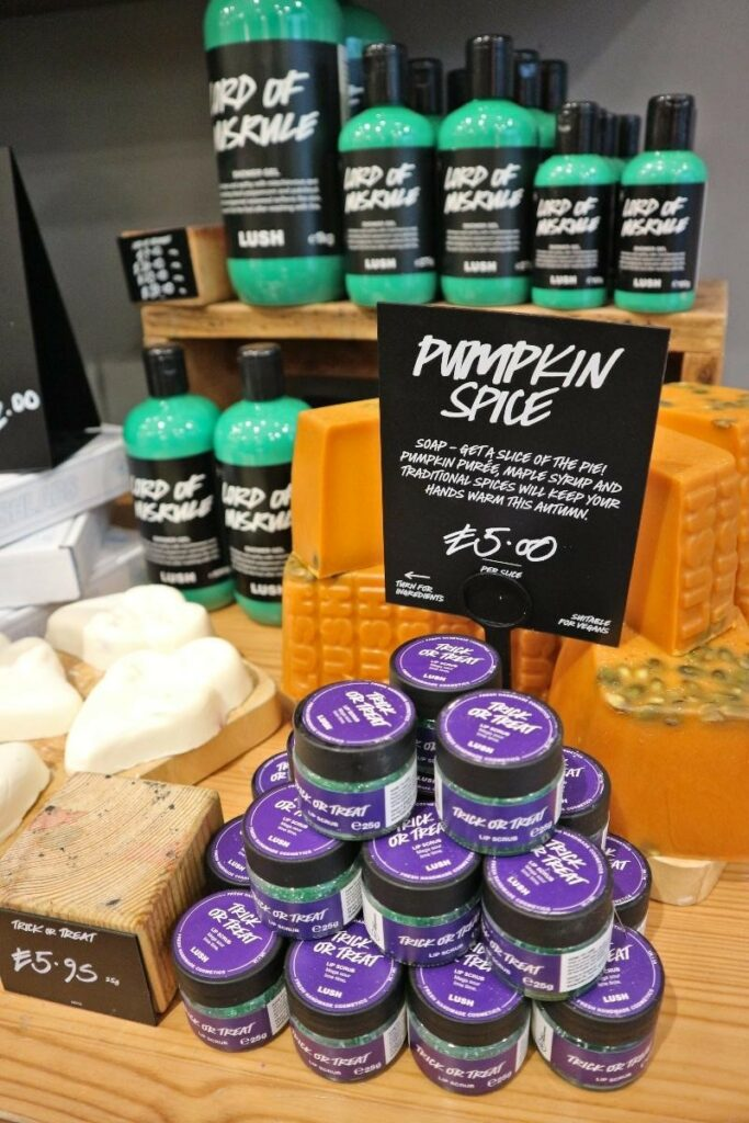 Lush Pumpkin spice soap