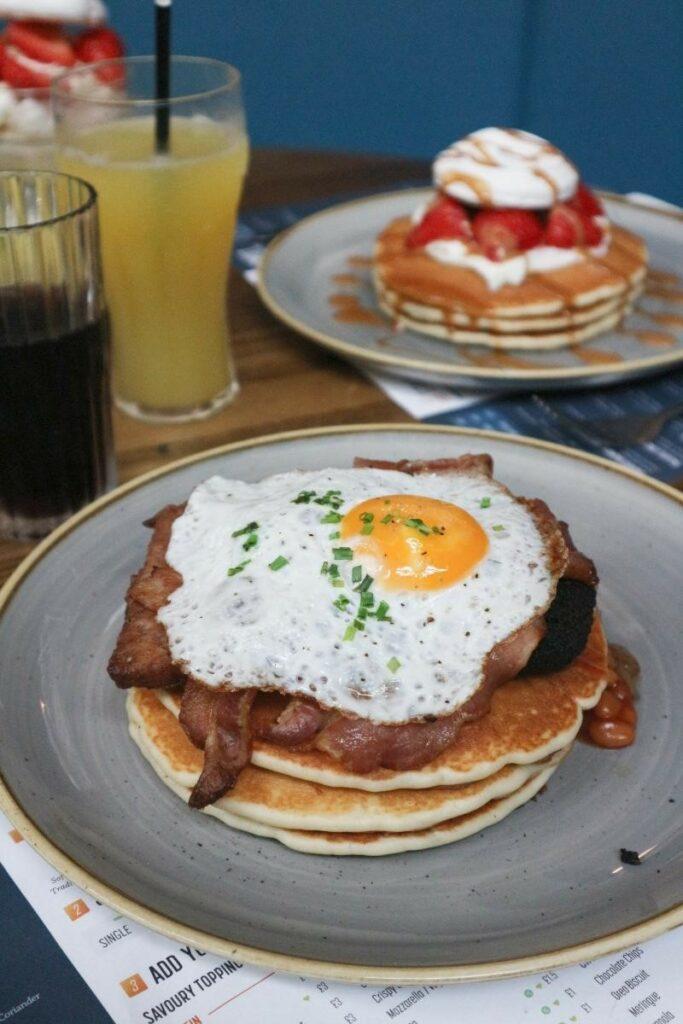 Stack & Still pancakes at Braehead Glasgow