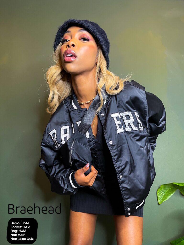 Nicole Masuku styling clothing brands from Braehead