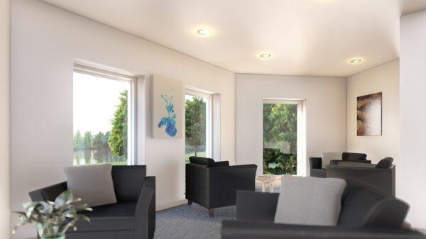 Proposed lake view lounge